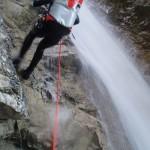 canyoning zillertal wasserfall