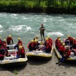 Rafting Mayrhofen Zillertal beim einbooten